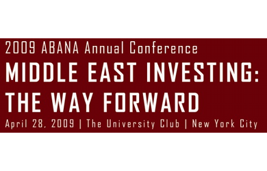 Middle East Investing Conference 2009